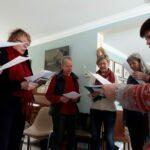 Essai d'un chœur corse féminin